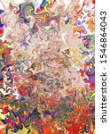 bright artistic splashes.... | Shutterstock . vector #1546864043