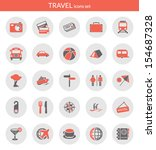 icons set about travel. flat...