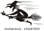 witch | Shutterstock .eps vector #154687820