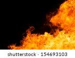 abstract of blaze fire flame... | Shutterstock . vector #154693103