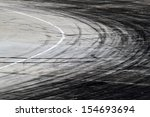 background with tire marks on...   Shutterstock . vector #154693694