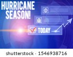 writing note showing hurricane... | Shutterstock . vector #1546938716