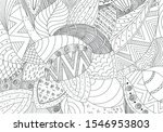 vector hand drawn outline... | Shutterstock .eps vector #1546953803