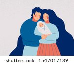 young happy couple embracing... | Shutterstock .eps vector #1547017139
