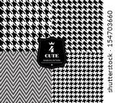fashion seamless pattern. | Shutterstock .eps vector #154703660