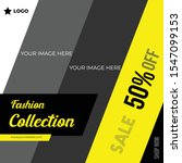 fashion sale collection with... | Shutterstock .eps vector #1547099153