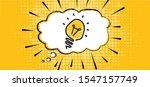 speech bubble light lamps lamp...   Shutterstock .eps vector #1547157749