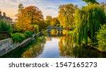 Beautiful Autumn Scenery Of...