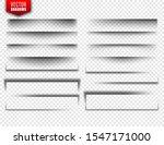 vector shadows set. page...   Shutterstock .eps vector #1547171000
