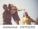 having so much fun with her... | Shutterstock . vector #1547252330