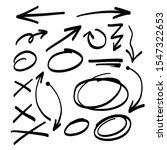 hand drawing design elements  ...   Shutterstock .eps vector #1547322653
