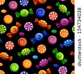 Colorful Candy Seamless Patter...