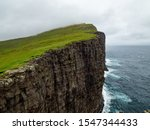Steep cliffs of faroe islands....