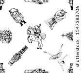 seamless pattern of hand drawn... | Shutterstock .eps vector #1547383706