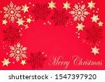 merry christmas background... | Shutterstock . vector #1547397920