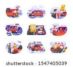online taxi car transportation...
