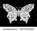 butterfly. gothic abstract... | Shutterstock .eps vector #1547442203