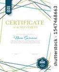 modern light certificate... | Shutterstock .eps vector #1547468663