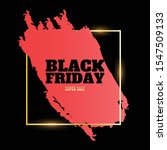 black friday banner with golden ...   Shutterstock .eps vector #1547509133