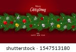 background merry christmas and... | Shutterstock .eps vector #1547513180