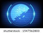 radar abstract technology... | Shutterstock .eps vector #1547562803