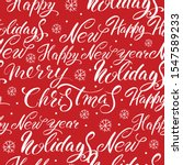new year's and christmas.... | Shutterstock .eps vector #1547589233