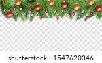 christmas tree branch top...   Shutterstock .eps vector #1547620346