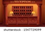 cartoon reception interior of a ... | Shutterstock .eps vector #1547729099