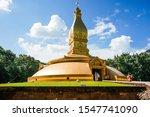 Golden Pagoda Of Temple Wat...