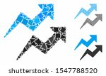 trends arrows mosaic of rough... | Shutterstock .eps vector #1547788520