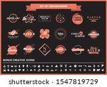 vintage retro vector for banner ... | Shutterstock .eps vector #1547819729