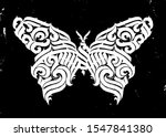 butterfly. gothic abstract... | Shutterstock .eps vector #1547841380
