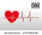 health care over grid... | Shutterstock .eps vector #154786238