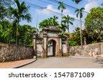 The Main Gate To Cao Lo Shrine...