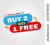 sale banner template design.... | Shutterstock .eps vector #1547878553