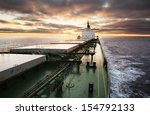 Cargo Ship In The Middle Of The ...