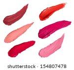 Постер, плакат: collection of various lipstick