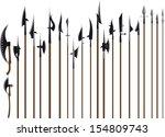 elegant serpentine banner... | Shutterstock . vector #154809743