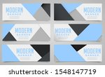abstract web banner design... | Shutterstock .eps vector #1548147719