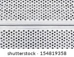 metal plate with holes  detail... | Shutterstock . vector #154819358