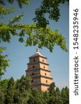 Large Pagoda Of Wild Geese In...
