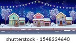 panorama road over the street... | Shutterstock .eps vector #1548334640