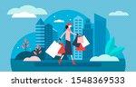 shopping vector illustration....   Shutterstock .eps vector #1548369533