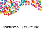 delicate floral pattern with... | Shutterstock .eps vector #1548394400