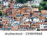 favela  crowded brazilian slum... | Shutterstock . vector #154849868
