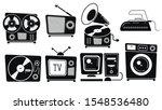 set of vintage equipment...