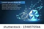 origami background design...   Shutterstock .eps vector #1548570566