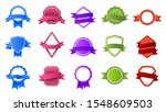 retro badges with ribbon... | Shutterstock .eps vector #1548609503