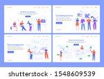 web statistics concept.... | Shutterstock .eps vector #1548609539