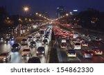 Beijing Sept. 16. Traffic Jam...